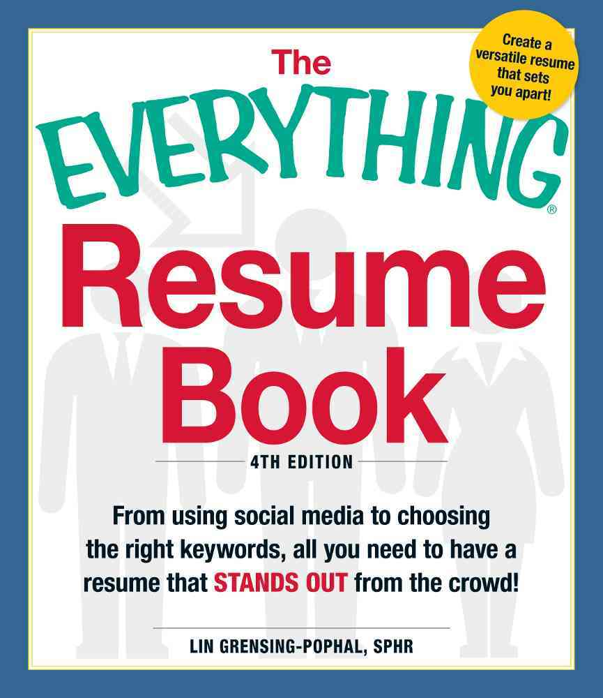The Everything Resume Book By Grensing-prophal, Lin